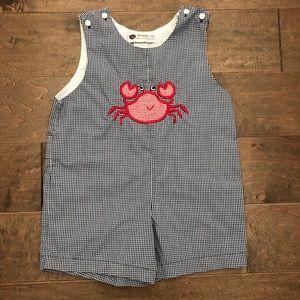 Smockadot Kids crab Jon Jon size 3T